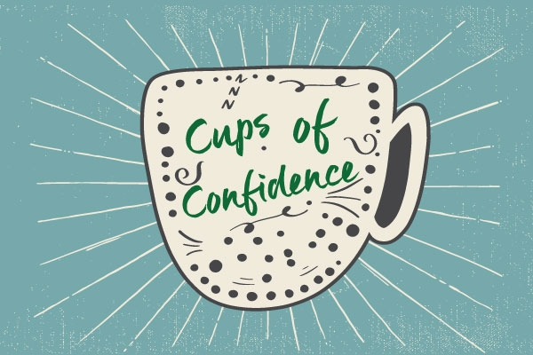 Cups of Confidence graphic